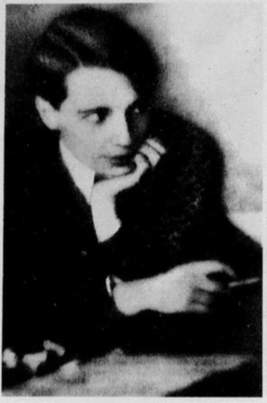 Фото Введенского Александра в молодости