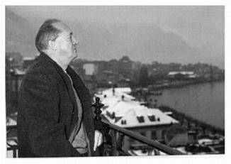 Фото Набокова Владимира Монре 1961 год
