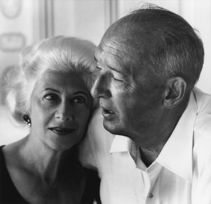 Фото Набокова Владимира с женой