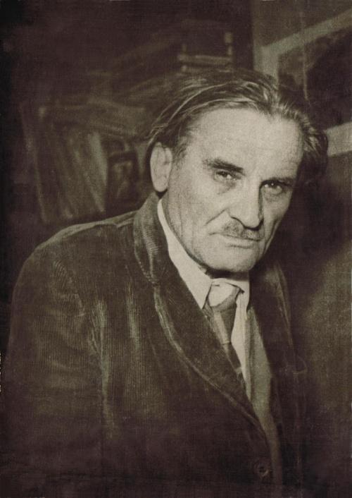 Фото Юрия Олеша 1958 год