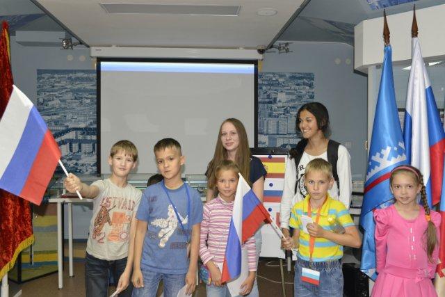 день флага России в Губкинском музее