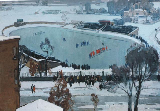 В.Ф. Васин «Стадион «Динамо» (1986)