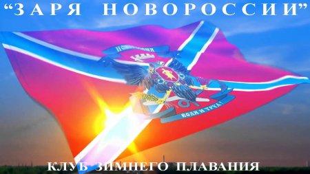 Экстремалы посвятили заплыв 2-й годовщине Русской Весны