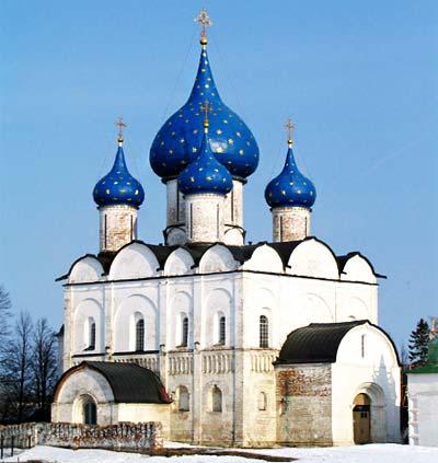 Суздальский кремль. Рождественский собор