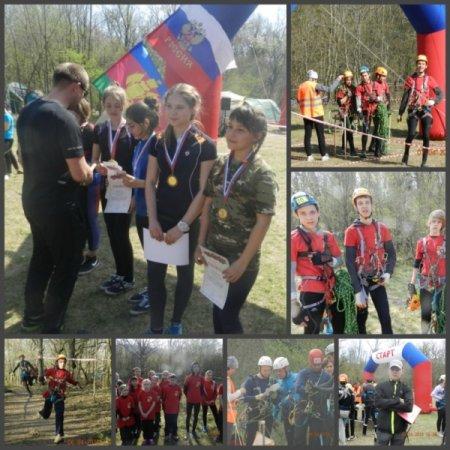 Соревнования по спортивному туризму в Адербиевке