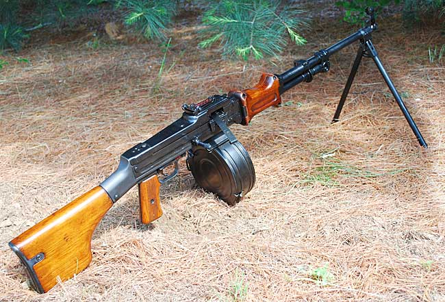 Ручной пулемет Дегтярева