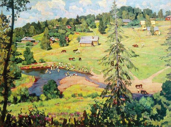 Константин Юон картины