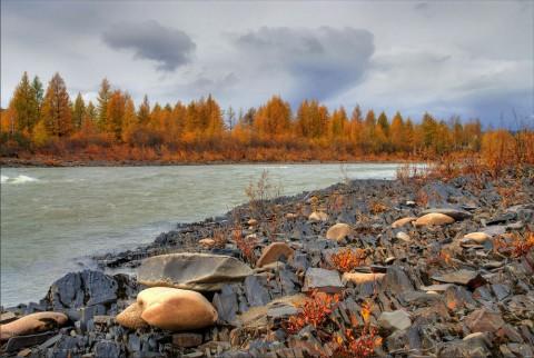 река Колыма