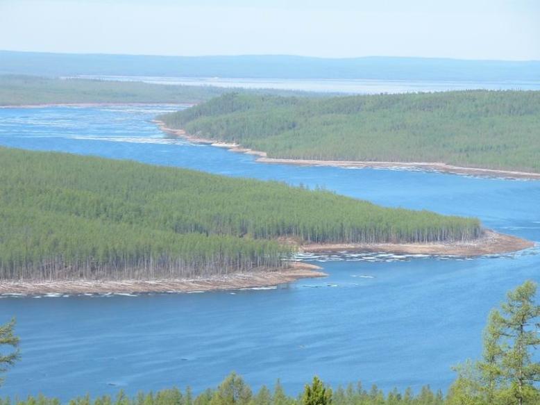река Вилюй
