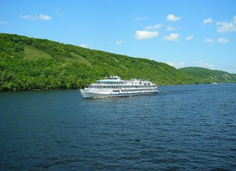 туризм на реке Волга