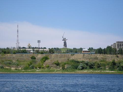 Река Волга Волгоград