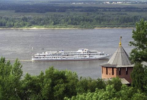 Река Волга. Нижний Новгород