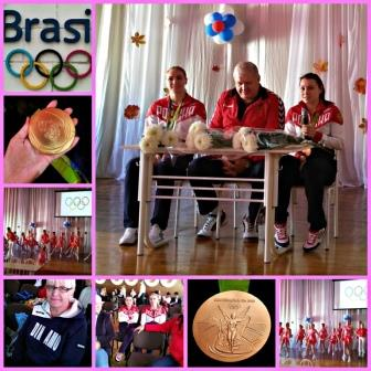 Встреча с Олимпийскими чемпионами по гандболу в Рио-2016