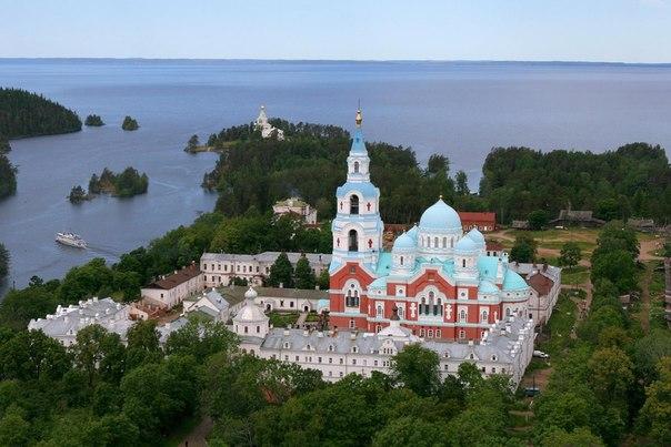 Остров Валаам. Монастырь