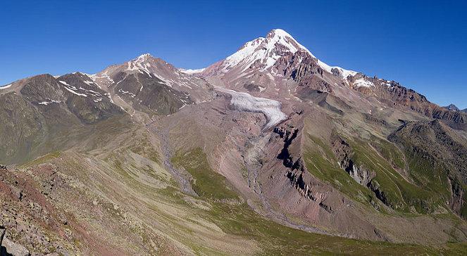 Казбек гора