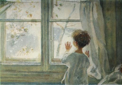 Сочинение по картине Зима пришла. Детство С.Тутунова