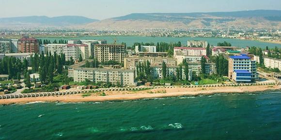 Махачкала. Каспийское море