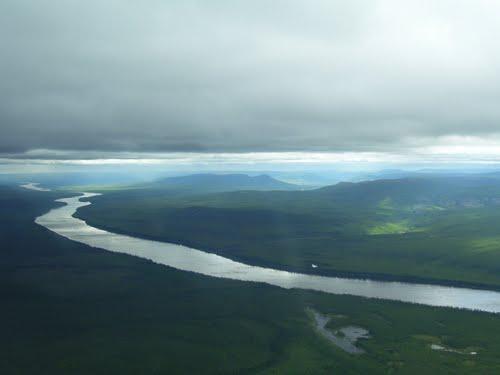 Река Нижняя Тунгуска