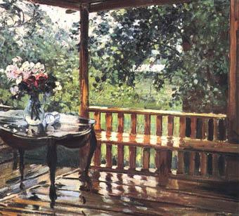 Сочинение по картине После дождя