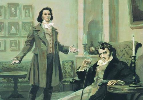 Онегин и Ленский
