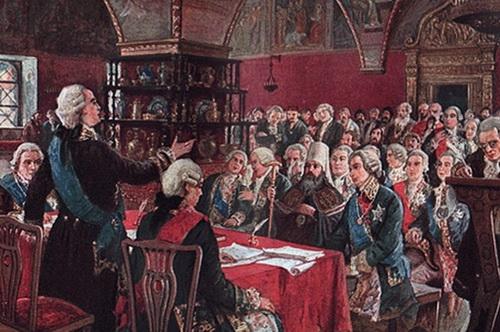 Уложенная комиссия Екатерины II