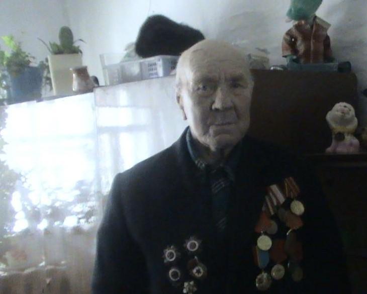 Тютеньков Никита Илларионович - участник Ленинградской битвы, проживал в с.Меновное