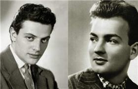 Державин и Ширвинтд в молодости фото
