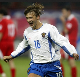 Дмитрий Сычев фото в форме сборной России