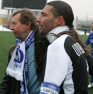 Овчинников и Семин в Динамо фото