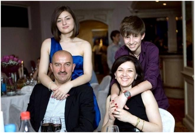 Семья Черчесова фото