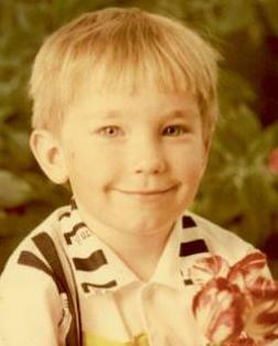 Александр Петров детское фото