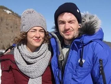 Александр Петров и Аглая Тарасова в фильме Лед, фото