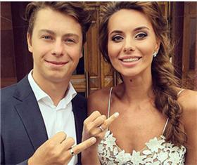 Никита Гусев с женой фото
