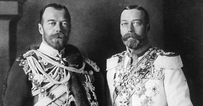 Николай 2 и Георг 5