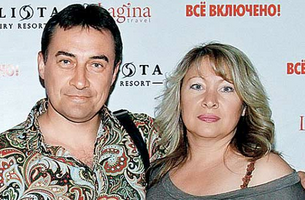 Камиль Ларин и его первая жена фото
