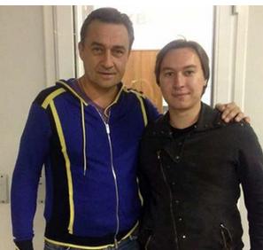 Камиль Ларин с сыном фото