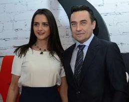 Камиль Ларин с женой фото