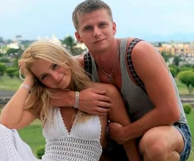 Анна Назарова с мужем Романом Курцыным фото