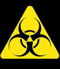 Биологическое оружие эмблема(знак)