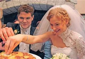Яглыч и Ходченкова свадебное фото