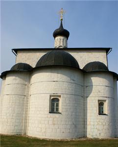 Церковь Бориса и Глеба в Кидекше фото