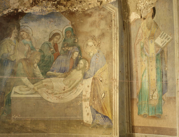 Церковь Бориса и Глеба фрески фото