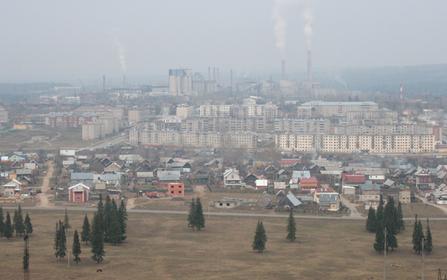 Горнозаводск с воздуха фото