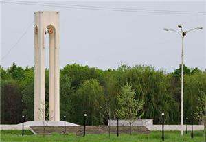 Памятник жертвам Великой Отечественной войны в Адыгейске фото