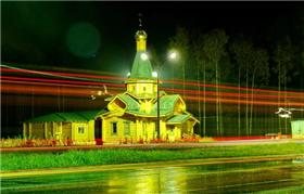 Церковь в Радужном фото