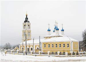 Церковь Казанской иконы божией матери в Лакинске фото