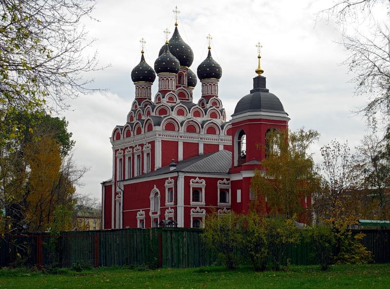 Тихвинская церковь Божией Матери в Москве
