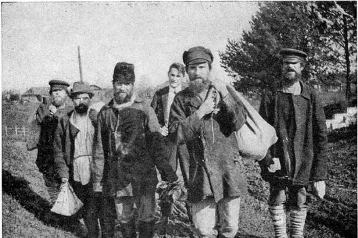 Приписные крестьяне